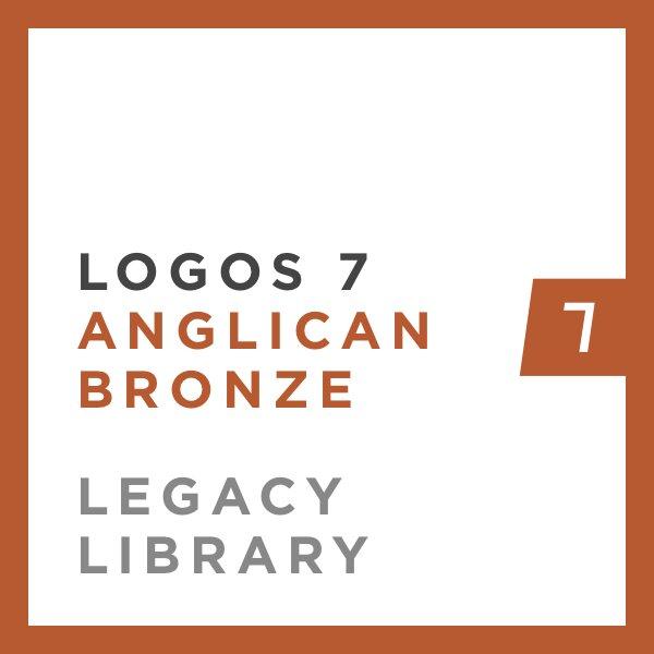 Logos 7 Anglican Bronze Legacy Library