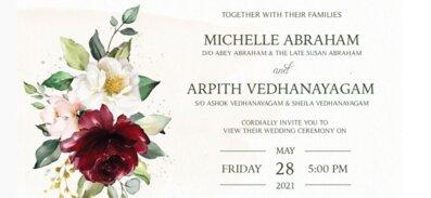 5.27.2021 Wedding Invitation