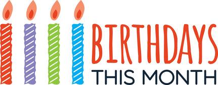 Birthdays This Month