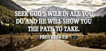 Bible Verses Seek God's Will