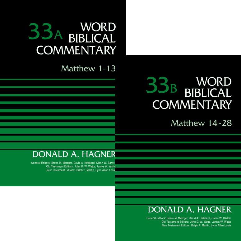Matthew, 2 vols. (Word Biblical Commentary, Volume 33 & 33b | WBC)