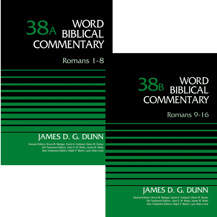Romans, 2 vols. (Word Biblical Commentary, Volume 38: a-b | WBC)