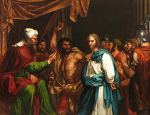 Jesús En Casa De Anás Museo Del Prado José De Madrazo