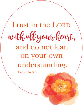 Trust In The Lord Proverbs3v5