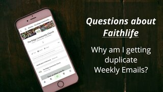 Questions About Faithlife 3