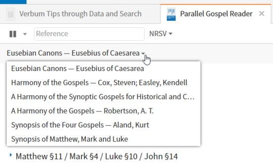 P29-2 Gospel Harmony Options
