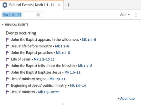 P1-3 Biblical Event Data