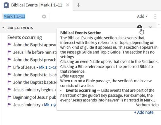 P1-1 Biblical Event Help