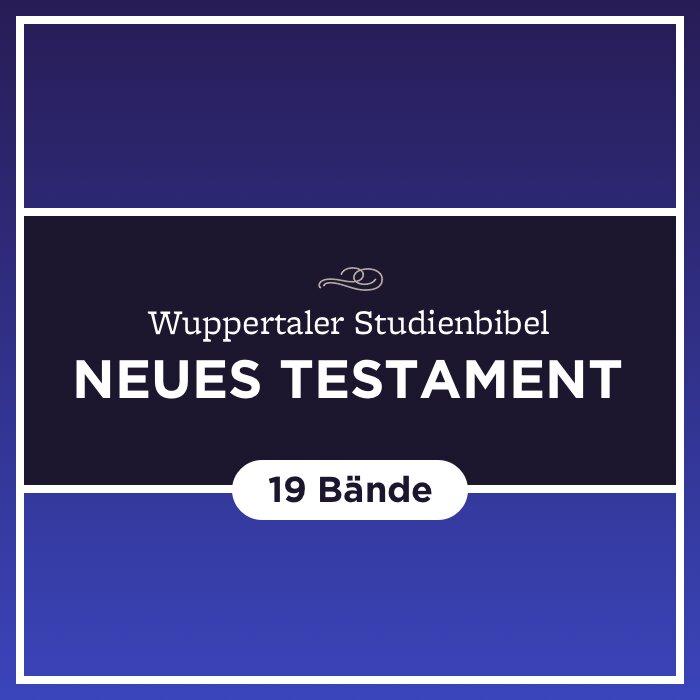 Wuppertaler Studienbibel (Neues Testament) (19 Bde.)