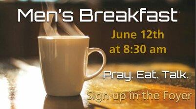 June Men's Breakfast