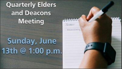 June Elders Deacons