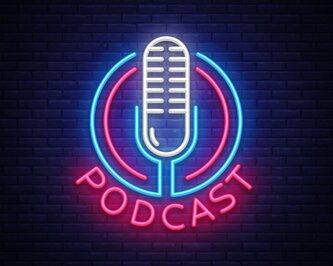 Neon Podcast Logo