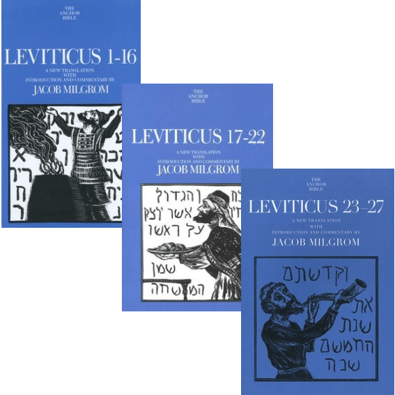 Leviticus, 3 vols. (Anchor Yale Bible Commentary | AYBC)