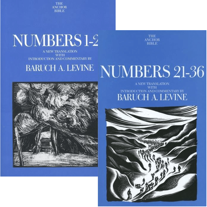 Numbers, 2 vols. (Anchor Yale Bible Commentary | AYBC)