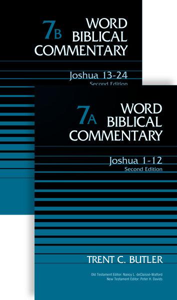 Joshua, 2 vols. (Word Biblical Commentary, Volume 7A & 7B | WBC)