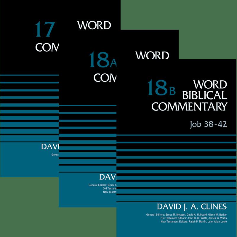 Job, 3 vols. (Word Biblical Commentary, Volume 17, 18A, & 18B | WBC)