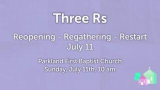 Three Rs