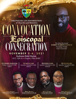 2021 Convocation Flyer