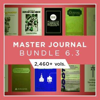 Master Journal Bundle 6.3 (2,460+ vols.)