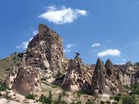 Cave Dwellings Site Churches Homes Monks Cappadocia