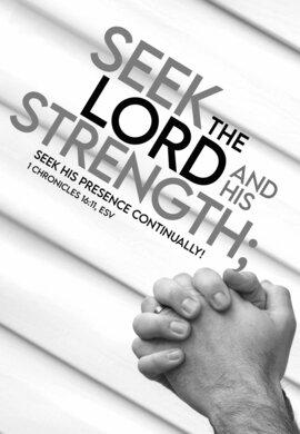 Prayer Seek The Lord