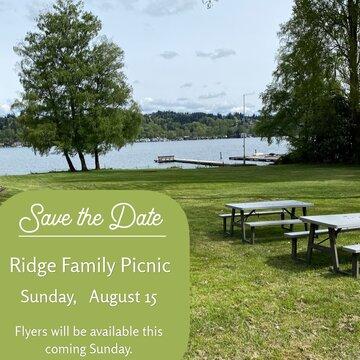 Ridge Family Picnic