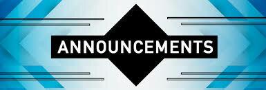 Sunday Announcements 5