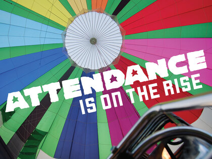 Attendance Is On The Rise