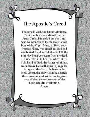 Apostlescreed
