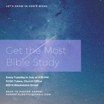 Get the Most Bible Study