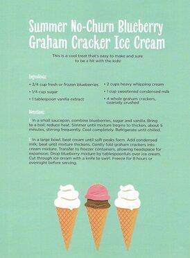 Summer Ice Cream Recipe