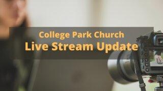 Live Stream Update