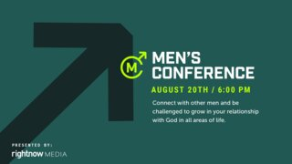 Men's Conference Editable Slide 1