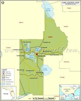 Lake County Map