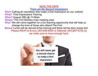 First Impressions Training