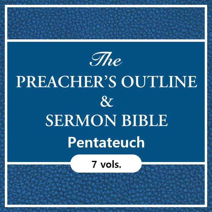 Pentateuch, 7 vols. (Preacher's Outline and Sermon Bible | POSB)
