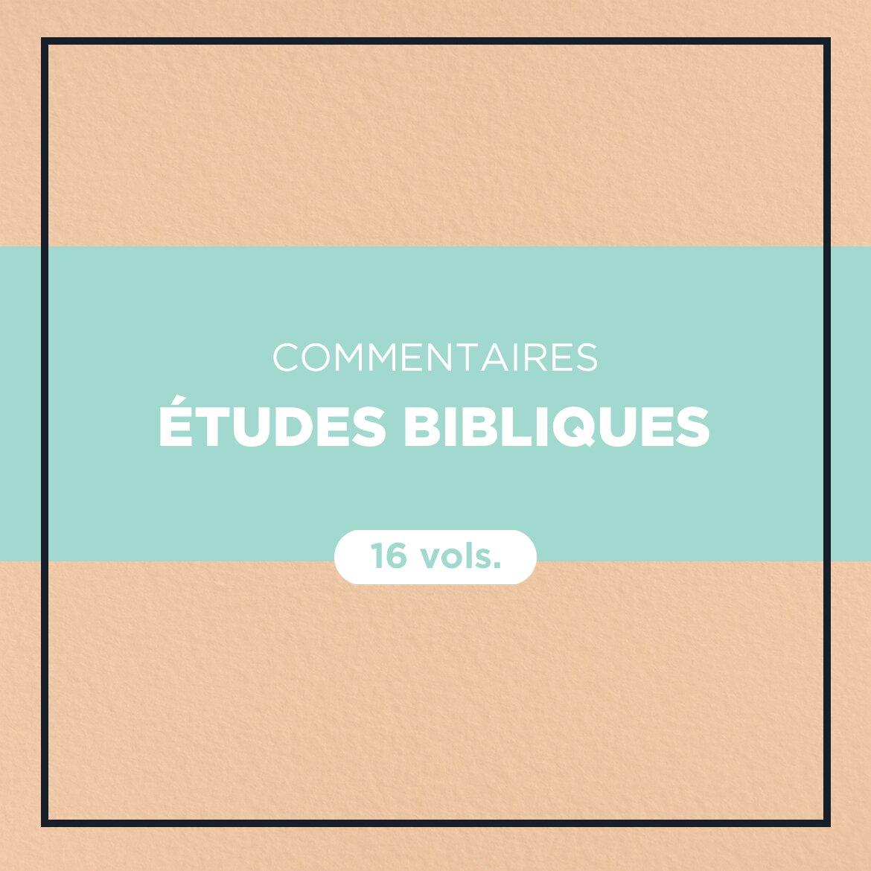 Commentaires Études bibliques