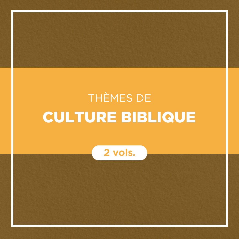 Commentaires Culture biblique