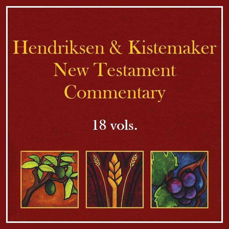 Hendriksen & Kistemaker New Testament Commentary   HK (18 vols.)