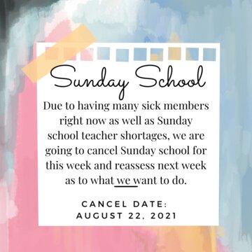 SS Canceled