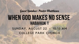 Sunday, August 22