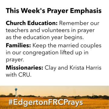 Prayer-emphasis