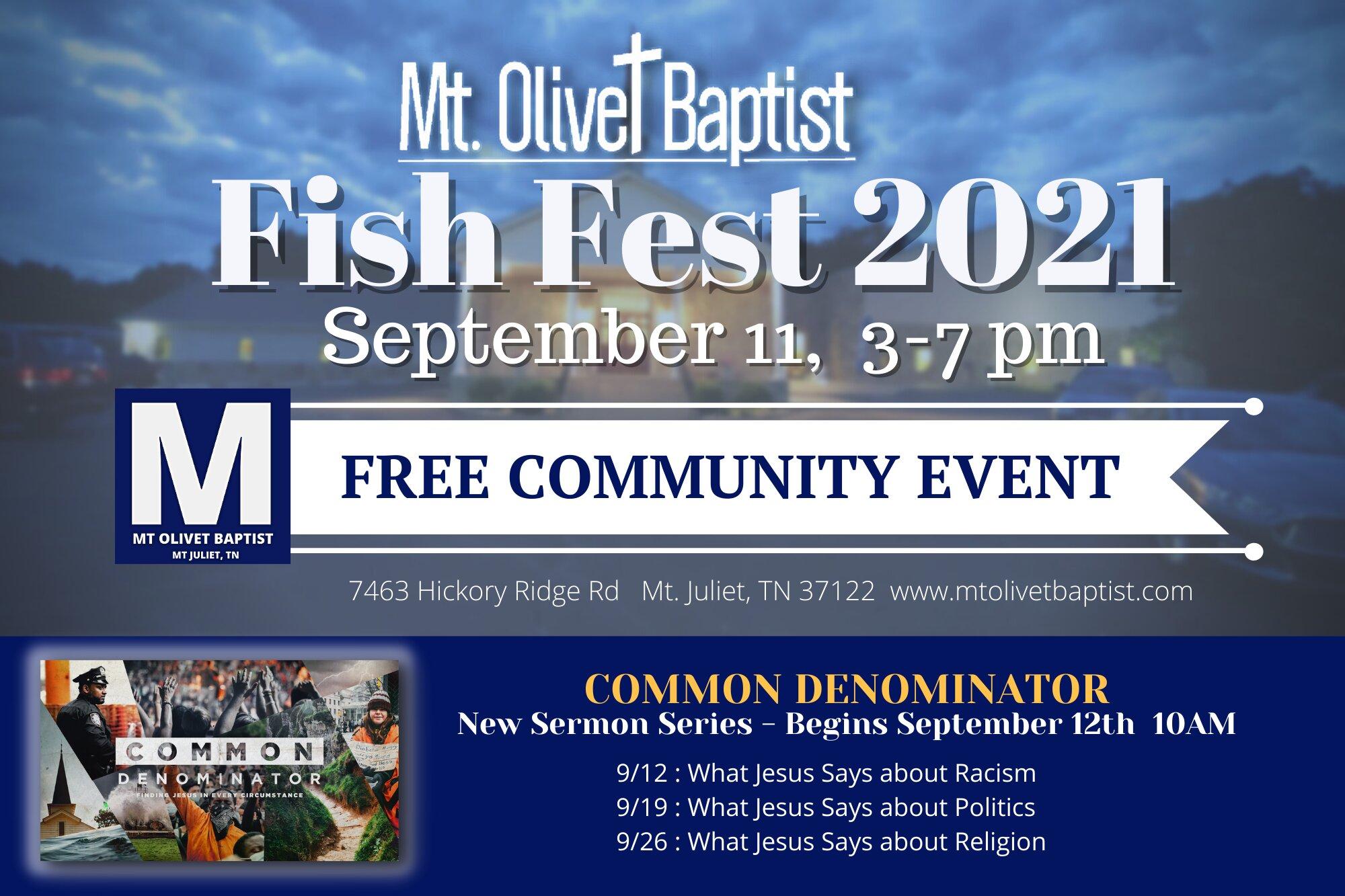 MOBC Fish Fest 2021