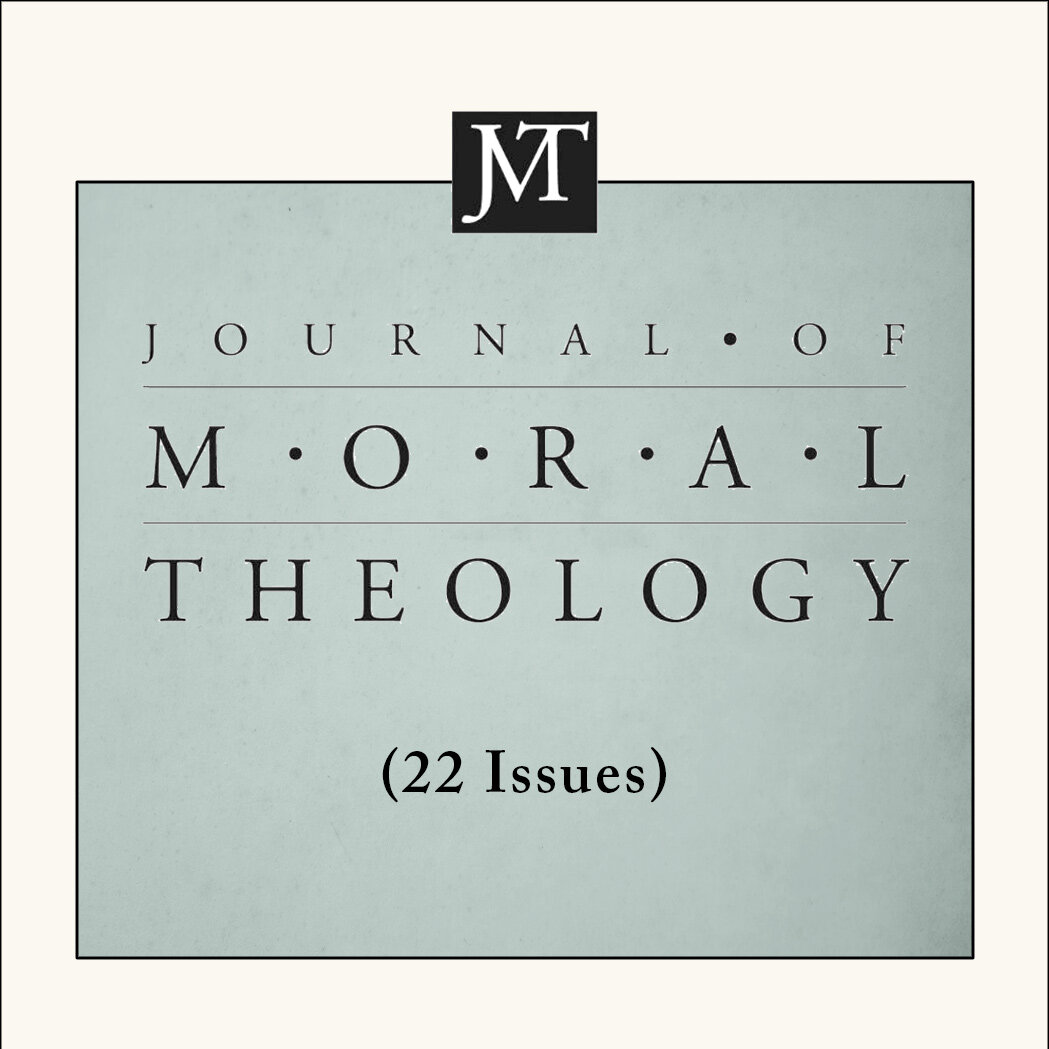 Journal of Moral Theology (22 issues)