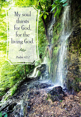 Water Living Thirst For Psalm 42 2