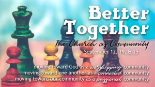 Better Together Sermon Series169