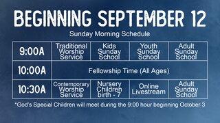 Fall2021 Schedule