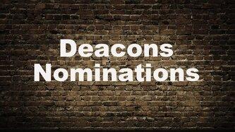 Deacon Nominations Image