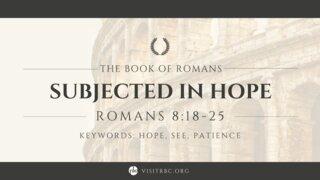 Romans Series September 5