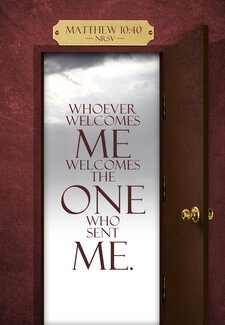 Welcome Matthew 10 40